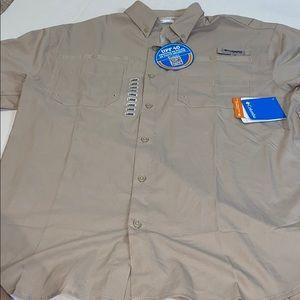 NWT men's Columbia PFG shirt L
